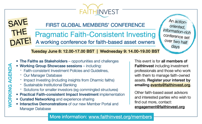 FaithInvest eventevent_2103182